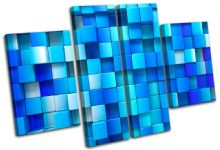 Squares Design Abstract - 13-1149(00B)-MP17-LO